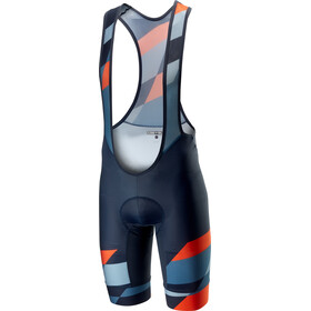 Castelli Tabularasa Bib Shorts Herren multicolor/blue/orange